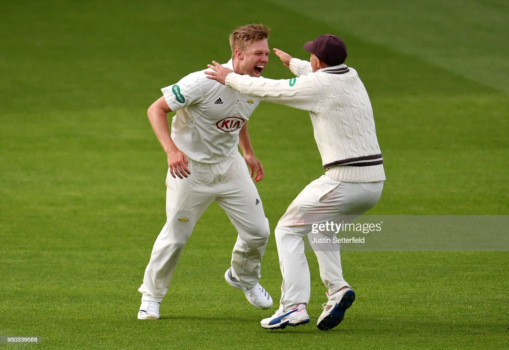 Surrey v Hampshire - Specsavers County Championship: Division One - Day 4