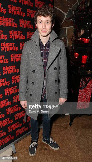 Matt Edmondson attends the after party for the press night of Ghost Stories at on February 27 2014 in London England