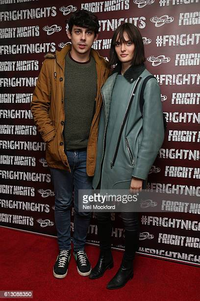 Matt Edmondson attends the launch of Thorpe Park's Fright Nights at Thorpe Park on October 6 2016 in Chertsey England