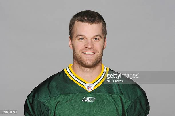 Matt Flynn of the Green Bay Packers poses for his 2009 NFL headshot at photo day in Green Bay Wisconsin