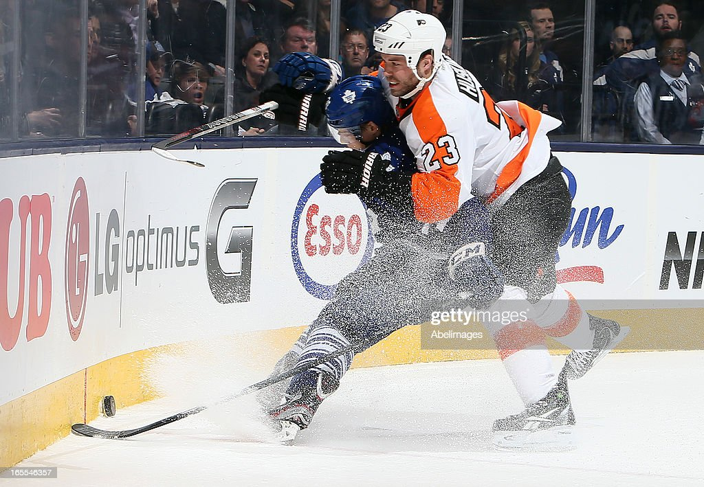 Philadelphia Flyers v Toronto Maple Leafs