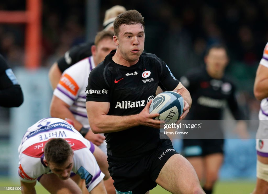 Saracens v Leicester Tigers - Gallagher Premiership Rugby : News Photo