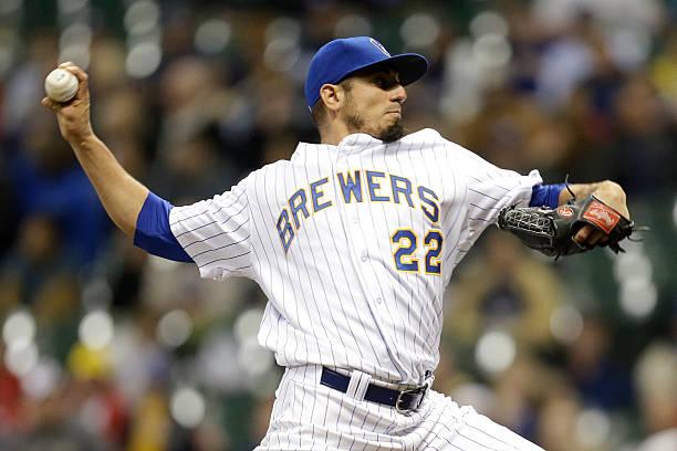 Matt Garza of the Milwaukee Brewers