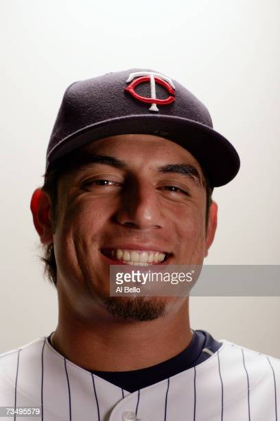 Matt Garza of the Minnesota Twins poses during Photo Day on February 26 2007 at Hammond Stadium in Fort Myers Florida