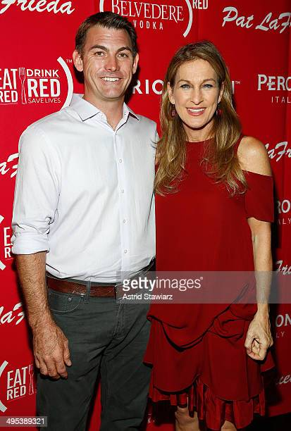 Matt Geller and CEO Deborah Dugan attend The Launch Of EAT DRINK SAVE LIVES at Eataly Birreria on June 2 2014 in New York City Photo by Astrid...