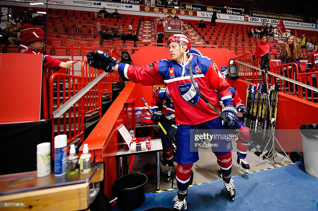 IFK Helsinki v Linkoping HC - Champions Hockey League : News Photo
