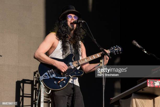 Matt Gervais of The Head and the Heart performs during Voodoo Music Arts Experience at City Park on October 29 2017 in New Orleans Louisiana