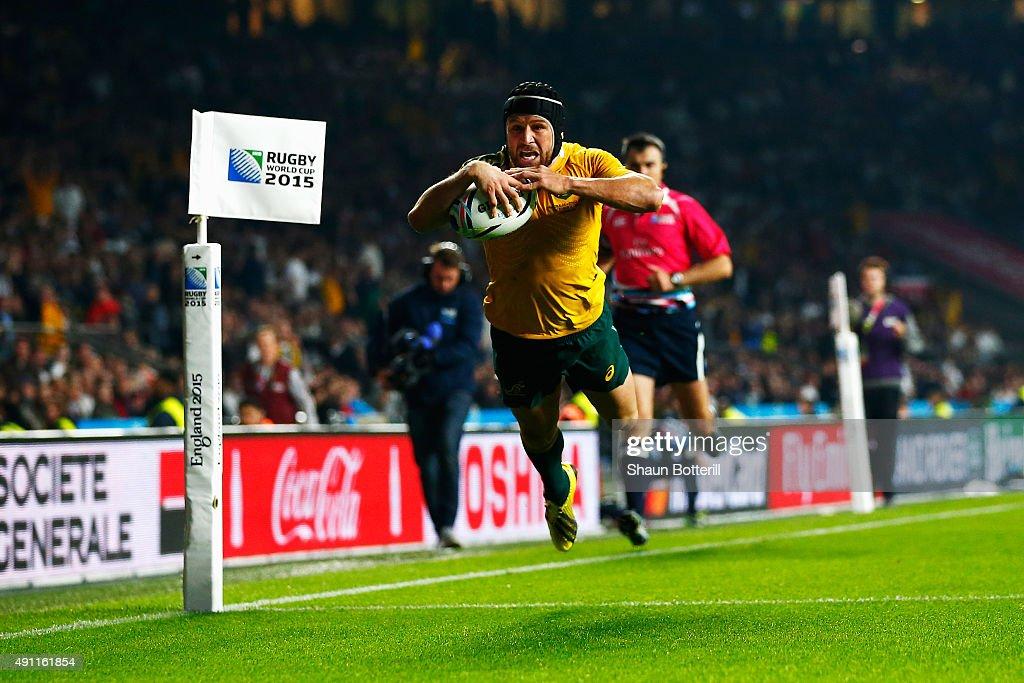 England v Australia - Group A: Rugby World Cup 2015 : ニュース写真