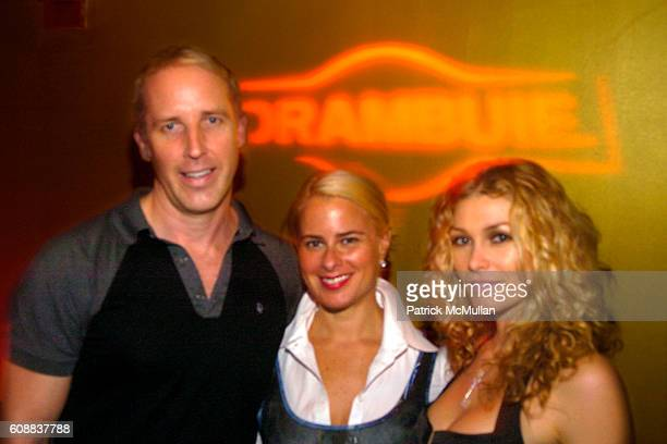 Matt Gorski Lori Cheek and Heather Vandeven attend Drambuie Den Event with Special Guest Heather Vandeven at Level V on October 22 2007 in New York