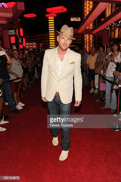 Matt Goss arrives at a screening of Universal Pictures' Get Him to the Greek at the Planet Hollywood Resort Casino May 20 2010 in Las Vegas Nevada...