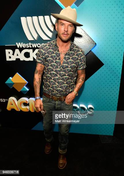 Matt Goss attends the 53rd Academy of Country Music Awards Cumulus/Westwood One Radio Remotes at MGM Grand Garden Arena on April 14 2018 in Las Vegas...