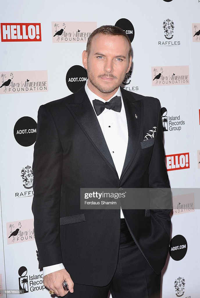 Matt Goss attends The Amy Winehouse Foundation Ball on November 20, 2012 in London, England.
