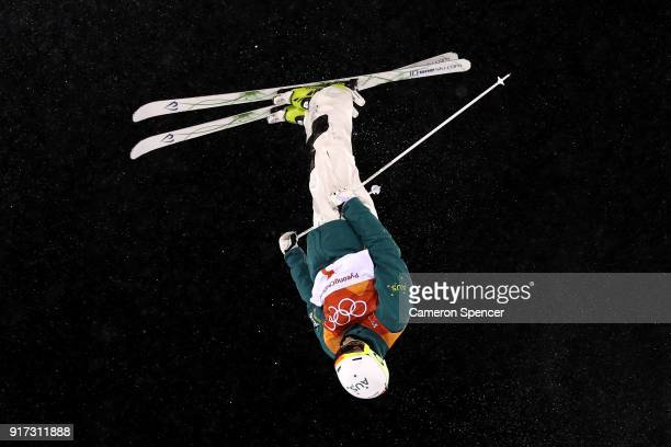 Matt Graham of Australia competes in the Freestyle Skiing Men's Moguls Final on day three of the PyeongChang 2018 Winter Olympic Games at Phoenix...