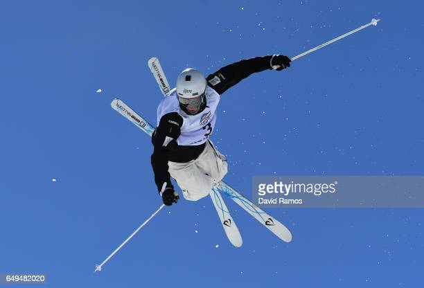Matt Graham of Australia competes in the Men's Moguls qualification on day one of the FIS Freestyle Ski Snowboard World Championships 2017 on March 8...