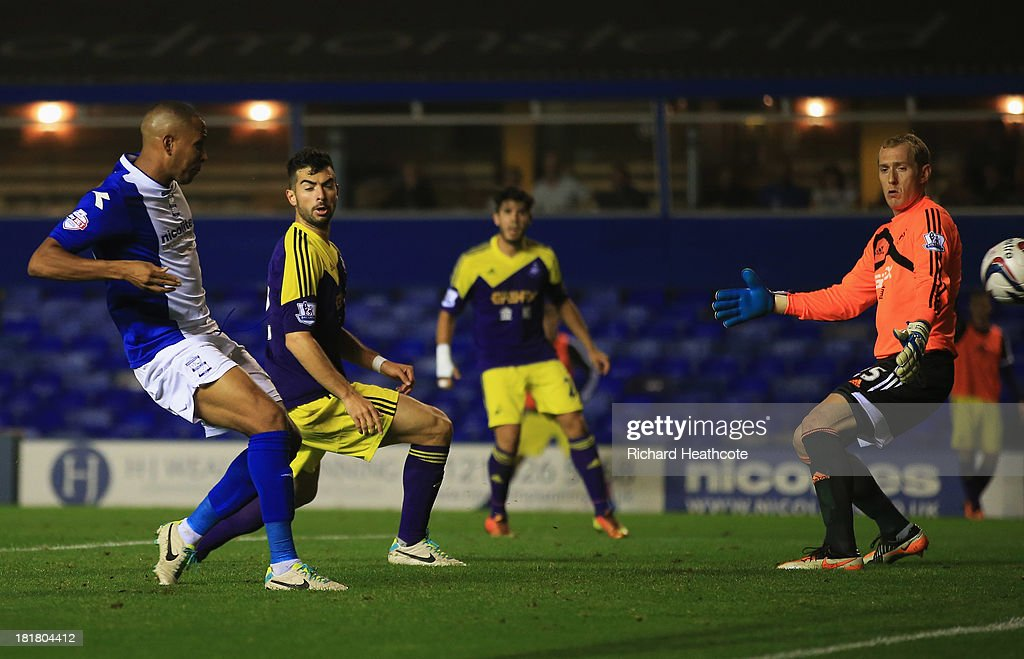 Birmingham City v Swansea City - Capital One Cup Third Round