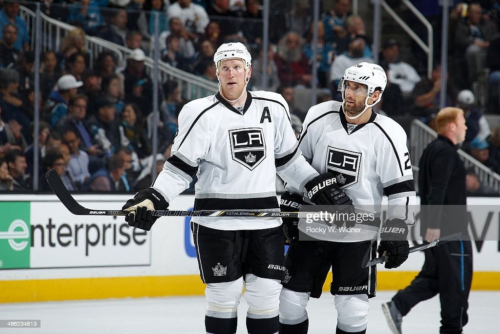 Los Angeles Kings v San Jose Sharks : News Photo