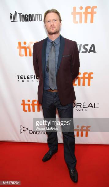 Matt Greenhalgh attends the 'Film Stars Don't Die in Liverpool' premiere during the 2017 Toronto International Film Festival at Roy Thomson Hall on...