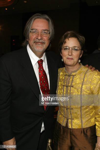 Matt Groening and Sara Gould during Ms Foundation for Women's 18th Annual 'Gloria Awards' at Mandarin Hotel in New York NY United States