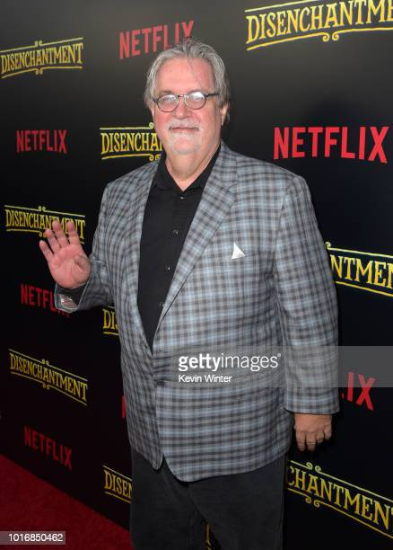 Matt Groening attends the screening of Netflix's Disenchantment at the Vista Theatre on August 14 2018 in Los Angeles California