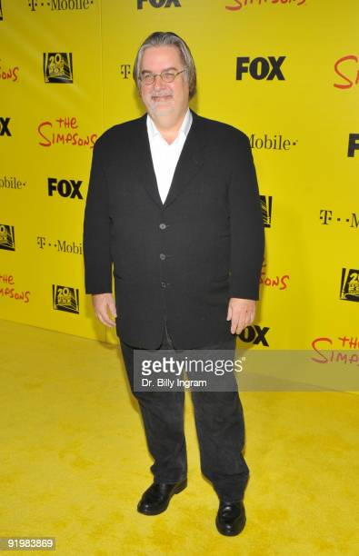 Matt Groening attends The Simpsons Treehouse Of Horror XX And 20th Anniversary Party on October 18 2009 in Santa Monica California