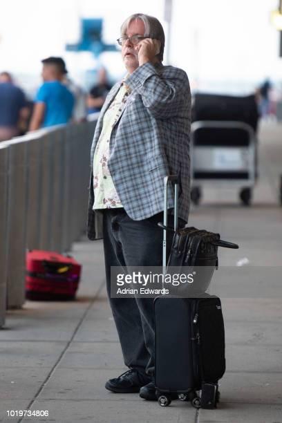 Matt Groening is seen arriving at JFK airport on August 15 2018 in New York City