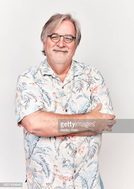 Matt Groening of Netflix's 'Disenchantment' poses for a portrait during the 2018 Summer Television Critics Association Press Tour at The Beverly...