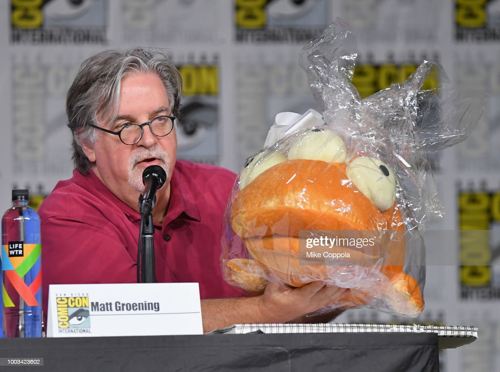 "Comic-Con International 2018 - ""The Simpson's"" Panel"