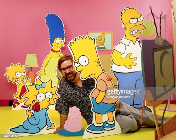 Matt Groening with The Simpsons