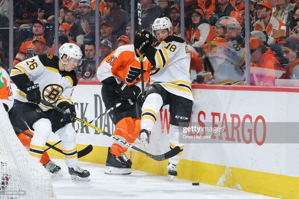 Boston Bruins v Philadelphia Flyers : News Photo