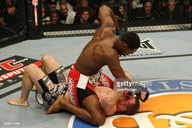 Matt Hamill def Jon Jones Disqualification 414 round 1 during The Ultimate Fighter 10 Finale at The Pearl at the Palms on December 5 2009 in Las...