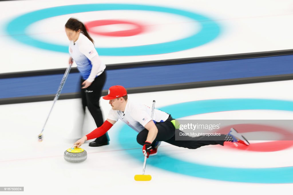 Curling - Winter Olympics Day 2