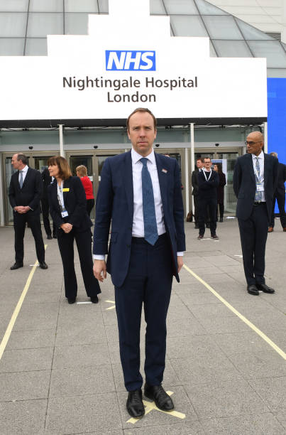 GBR: NHS Nightingale Hospital Is Officially Opened To Treat Coronavirus Patients