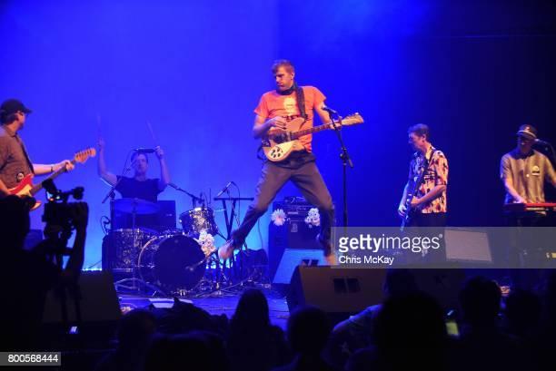 Matt Hanson Andres Solar David Zwart and Jeff Matthews of Daisy perform during AthFest at Georgia Theatre on June 23 2017 in Athens Georgia