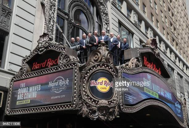 Matt Harkness President Hard Rock Atlantic City Joe Jingoli Michael Jingoli Jon Lucas COO Hard Rock International Jim Allen CEO Hard Rock...