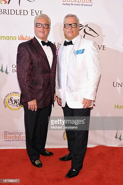 Matt Harris and Mark Harris attend the Unbridled Eve Gala for the 139th Kentucky Derby at The Galt House Hotel Suites' Grand Ballroom on May 3 2013...