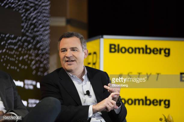 Matt Harris managing director of Bain Capital Venture Partners LLC speaks during the Sooner Than You Think conference in the Brooklyn borough of New...