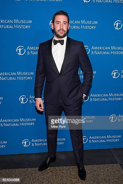 Matt Harvey attends the 2016 American Museum Of Natural History Museum Gala at American Museum of Natural History on November 17 2016 in New York City