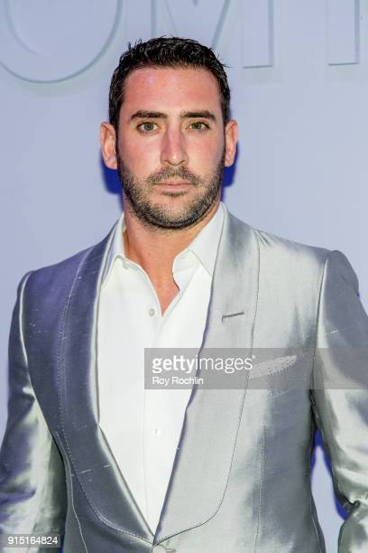 Matt Harvey attends the Tom Ford Fall/ Winter 2018 Men's Runway Show at Park Avenue Armory on February 6 2018 in New York City