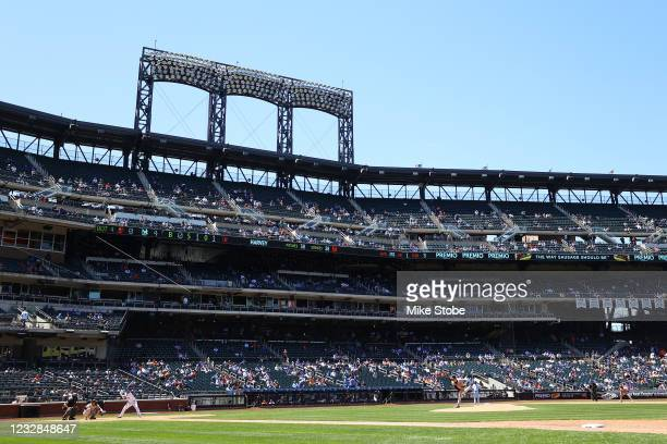 Matt Harvey of the Baltimore Orioles pitches against the New York Mets at Citi Field on May 12, 2021 in New York City.