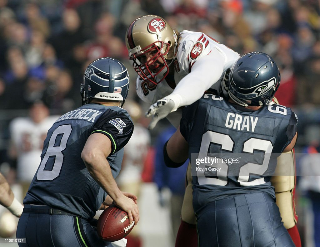San Francisco 49ers vs Seattle Seahawks - December 11, 2005
