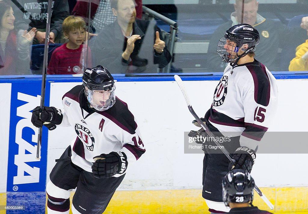 2014 NCAA Division I Men's Ice Hockey Championship - East Regional : News Photo