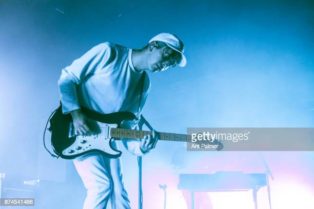 Matt Healy of The 1975 performs live on stage at the Palladium on June 21 2017 in Cologne Germany