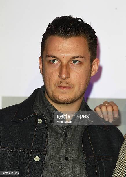 Matt Helders attends the 20000 Days on Earth screening at Barbican Centre on September 17 2014 in London England
