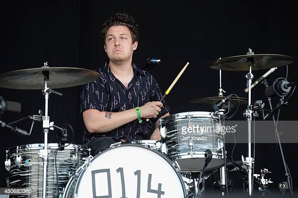 Matt Helders of Arctic Monkeys performs onstage at What Stage during day 4 of the 2014 Bonnaroo Arts And Music Festival on June 15 2014 in Manchester...