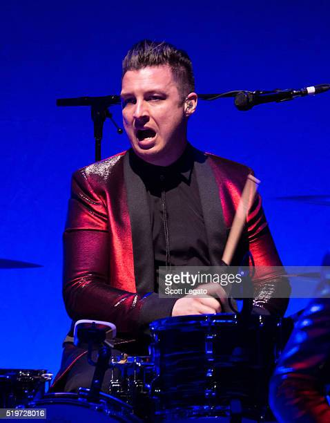 Matt Helders performs with Iggy Pop in support of the Post Pop Depression Tour at Fox Theatre on April 7 2016 in Detroit Michigan