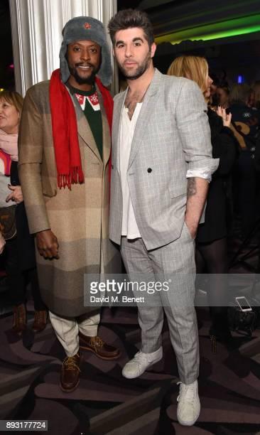 Matt Henry and Simon Lipkin attend the world premiere press night performance of 'Nativity The Musical' at Eventim Apollo Hammersmith on December 14...