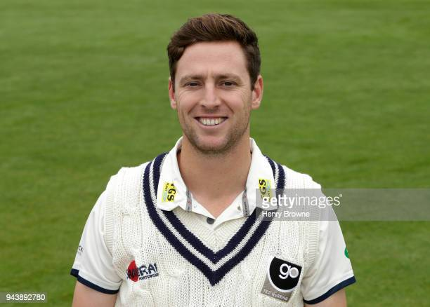 Matt Henry of Kent poses for a portrait during a Kent CCC photocall at The Spitfire Ground on April 9 2018 in Canterbury England