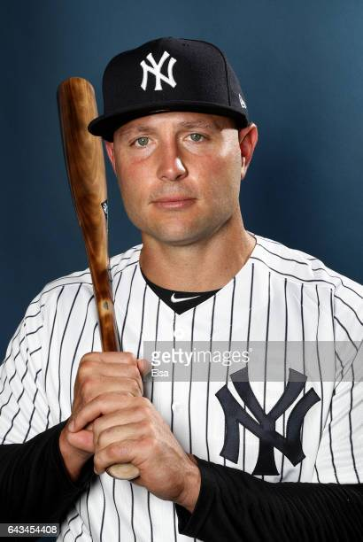 452c135c015 Matt Holliday of the New York Yankees poses for a portrait during the New  York Yankees. New York Yankees. People  Kevin Reese
