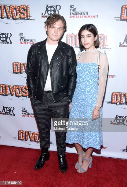 Matt Horner and Deanna Dorta attend a Los Angeles VIP industry screening with the filmmakers and cast of DIVOS at TCL Chinese 6 Theatres on May 01...