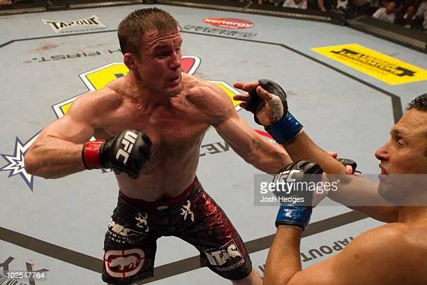 Matt Hughes def Renzo Gracie Unanimous decision during UFC 112 at Yas Island on April 10 2010 in Abu Dhabi United Arab Emirates